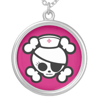Nurse Molly Silver Plated Necklace