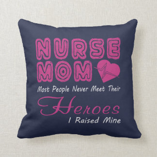 Nurse Mom Throw Pillow