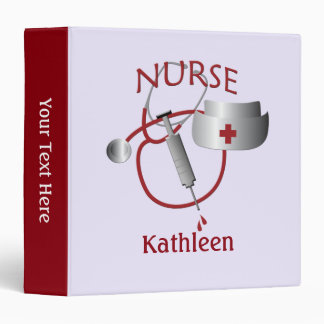 Nurse Name Nurses Custom Binder