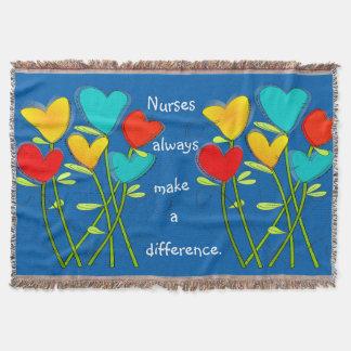 Nurse Nap Blanket Make a Difference Throw Blanket