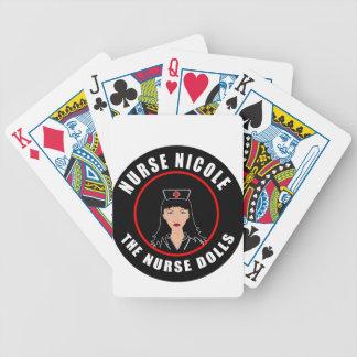 Nurse Nicole Bicycle Playing Cards