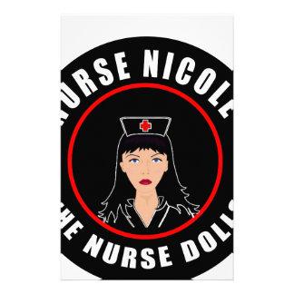 Nurse Nicole Stationery