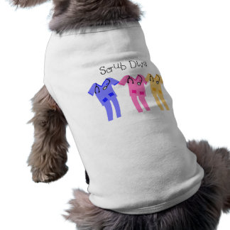 Nurse or Medical Scub Wearer gifts Doggie Tee