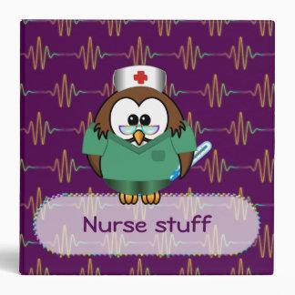 nurse owl binder