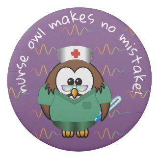 nurse owl - eraser