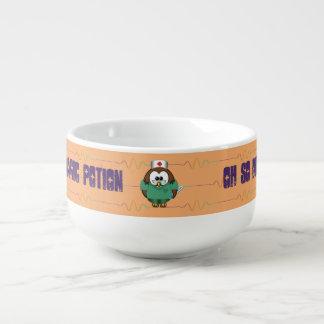 nurse owl - soup mug