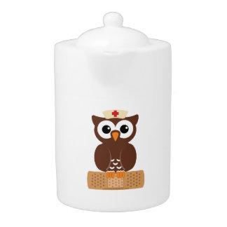 Nurse Owl (w/bandaid)