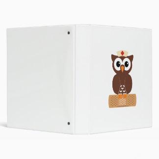 Nurse Owl (w/bandaid) Binders