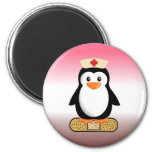 Nurse Penguin (w/bandaid) Magnets