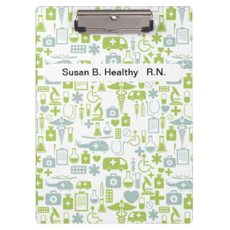Nurse Personalized Medical Clipboards