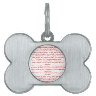 nurse pet ID tag
