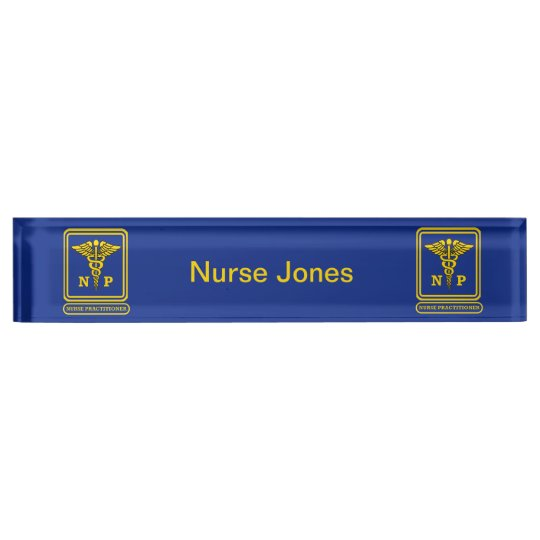 Nurse Practitioner Name Plates