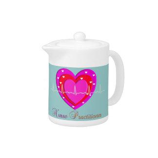 Nurse Practitioner Teapot
