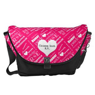 Nurse Pride Attributes/Pink Commuter Bag