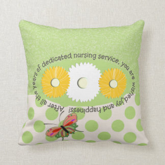 Nurse Retirement Pillow