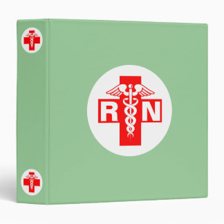 Nurse RN or Initials Binder