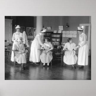 Nurse School, early 1900s Poster