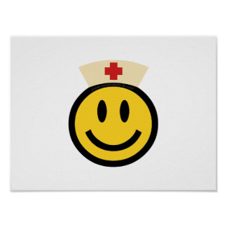 Nurse Smiley Poster