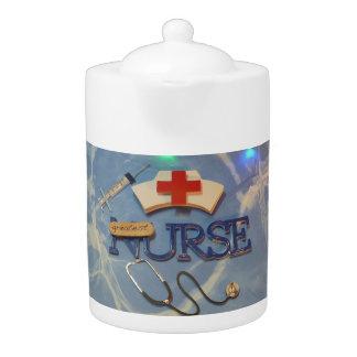 Nurse teapot