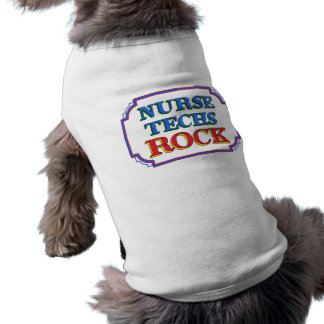Nurse Techs Rock Dog Clothes