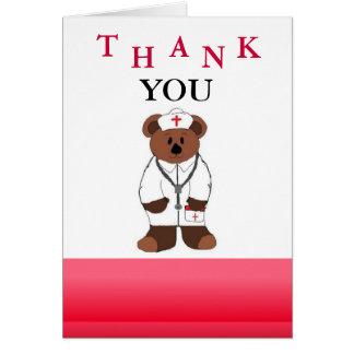Nurse Thank You Card