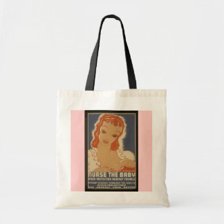 Nurse the Baby vintage bag