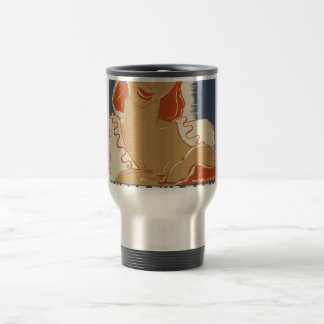 Nurse the Baby WPA Poster 15 Oz Stainless Steel Travel Mug