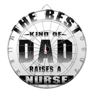 Nurse, the best kind of dad dartboard
