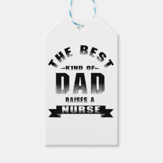 Nurse, the best kind of dad gift tags