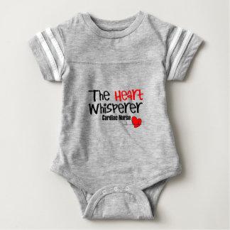 Nurse the heart whisperer baby bodysuit