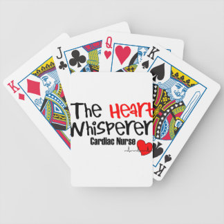 Nurse the heart whisperer bicycle playing cards