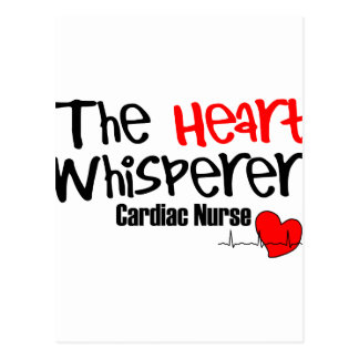 Nurse the heart whisperer postcard
