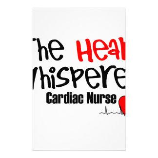 Nurse the heart whisperer stationery