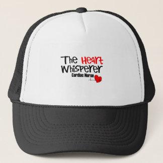 Nurse the heart whisperer trucker hat
