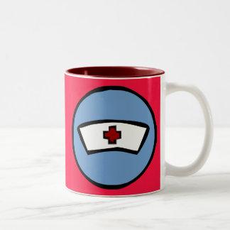 nurse Two-Tone coffee mug