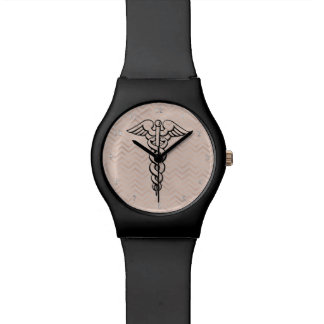 Nurse Watch | Medical Caduceus Symbol Chevrons