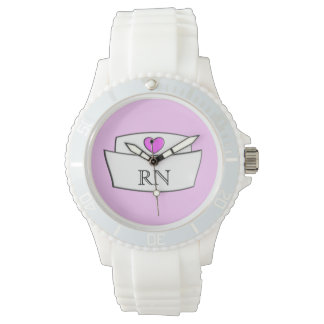Nurse Watch Nurse Cap RN
