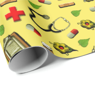 Nurse Wrapping Paper