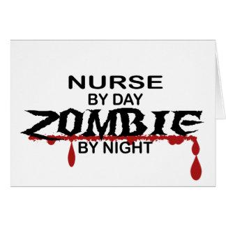 Nurse Zombie Card