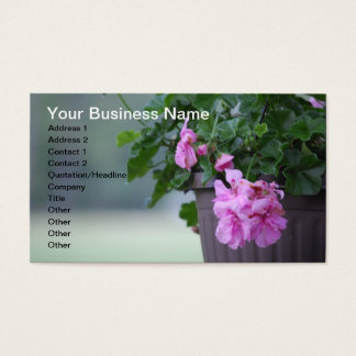Nursery or Greenhouse Business Cards