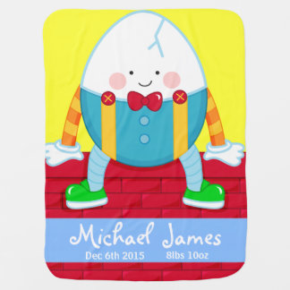 nursery rhyme humpty baby blanket