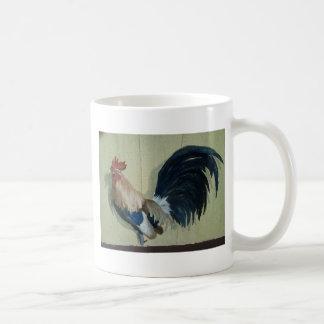Nursery Rooster Mural Coffee Mug