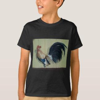 Nursery Rooster Mural T-Shirt