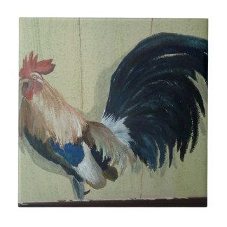 Nursery Rooster Mural Tile