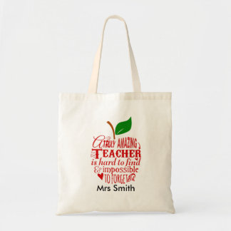 Nursery Thank you Teacher Bag