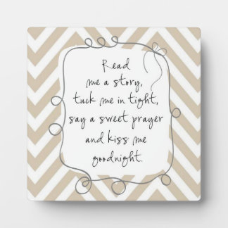 Nursery Wall Quote Read Me A Story Plaque