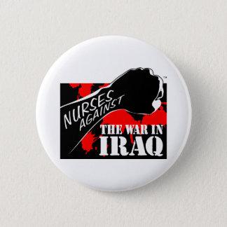 Nurses Against the War in Iraq 2 Inch Round Button