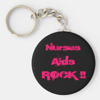 Nurses Aids ROCK Keychain