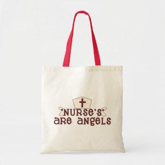 Nurses Are Angels Bag