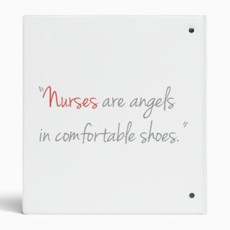 Nurses are Angels Nursing Binder